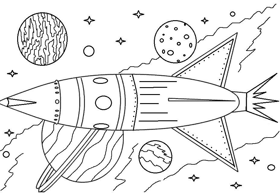 """Раскраски """"космос"""" скачать и распечатать бесплатно"""