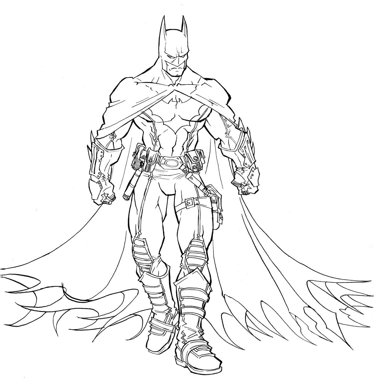 Бэтмен раскраски скачать