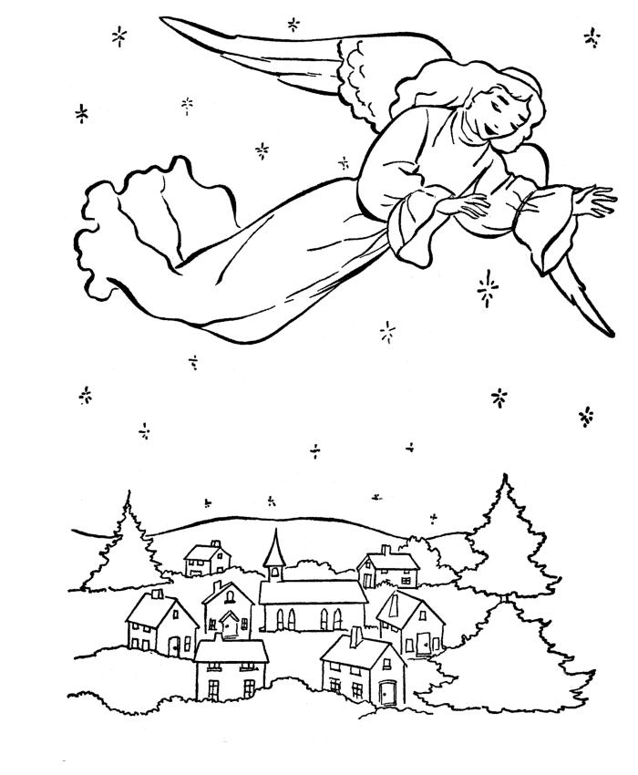 Как нарисовать открытку рождественскую 19
