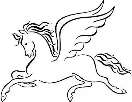с крыльями ангел раскраски