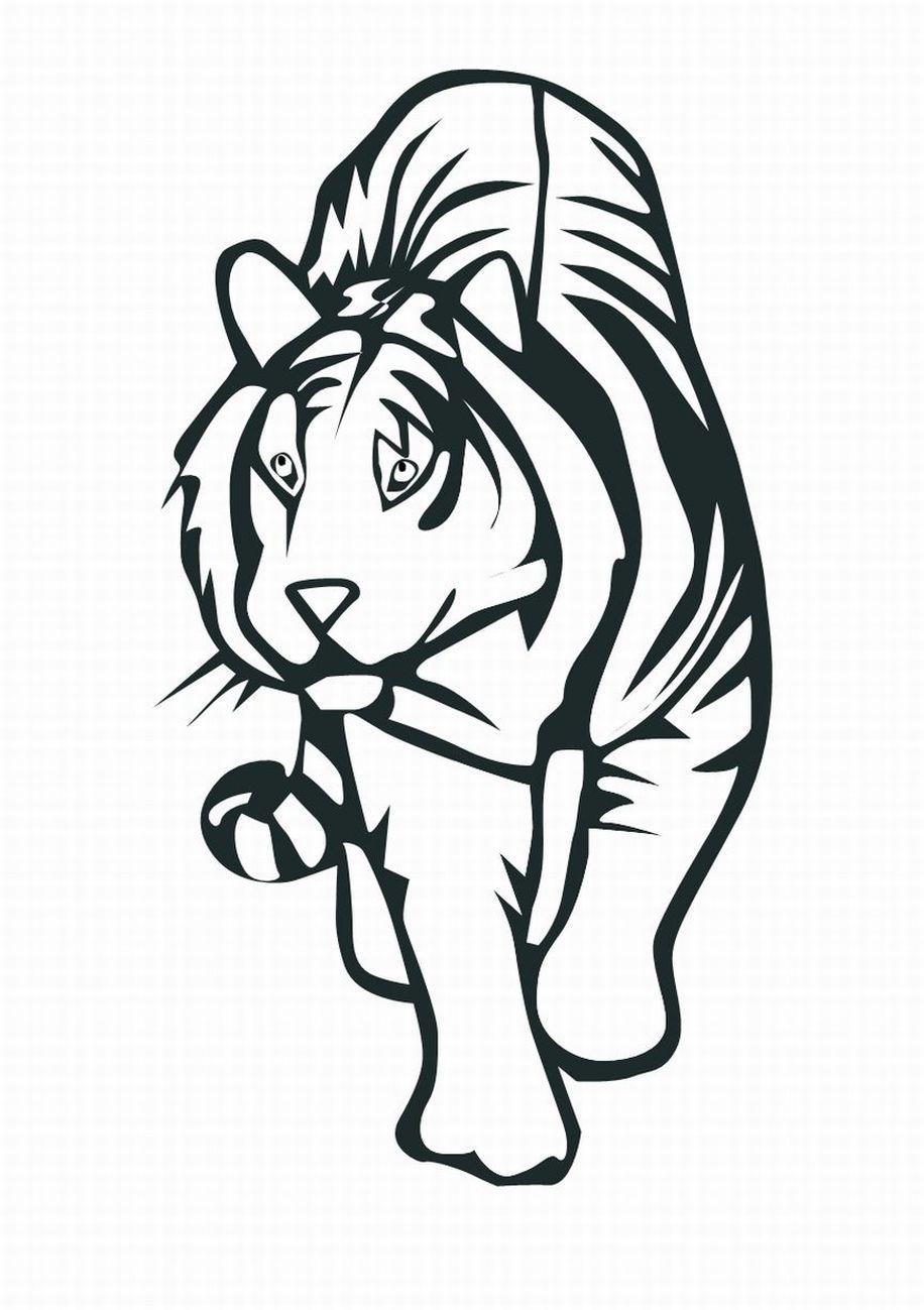 Схема вышивки крестом тигр фото 137