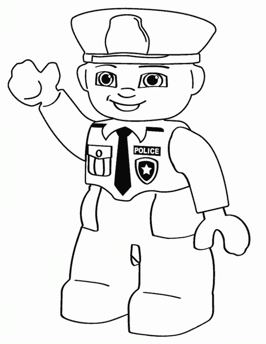 """Раскраски """"лего полиция и полицейские машины"""" скачать и ..."""