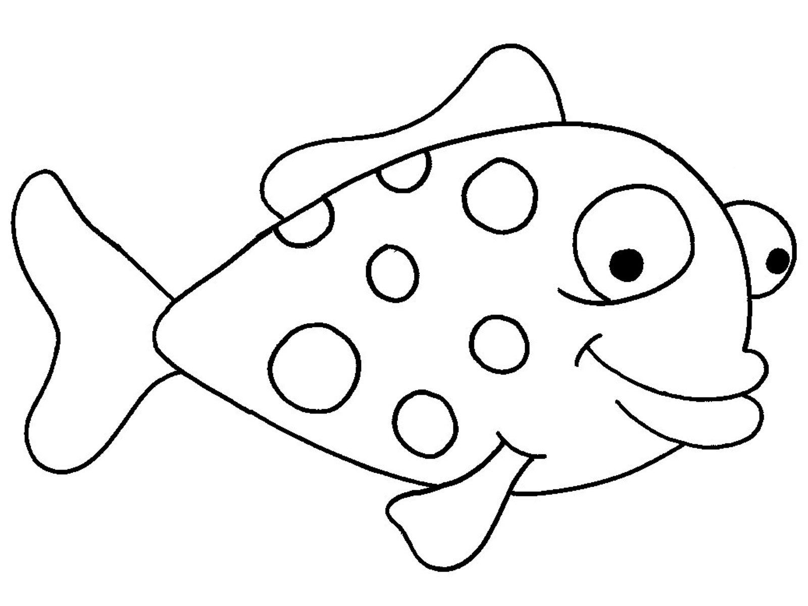 Fish drawings for kids