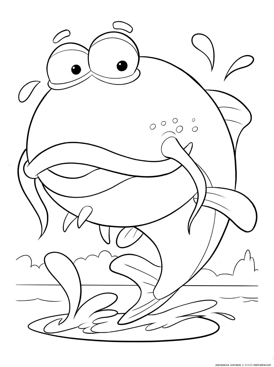 """Раскраски """"рыба"""" скачать и распечатать бесплатно"""