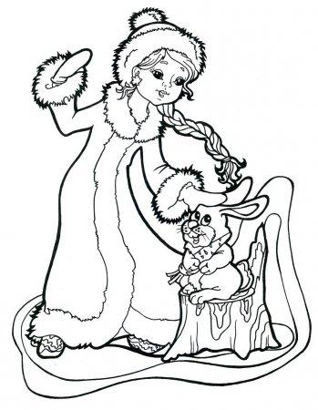 нарисовать рисунок по сказке мороз иванович