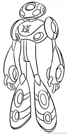 ben 10 coloring pages waybig - photo#20