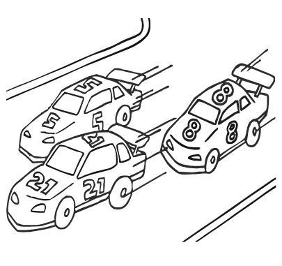 """Раскраски """"автомобили"""" онлайн"""