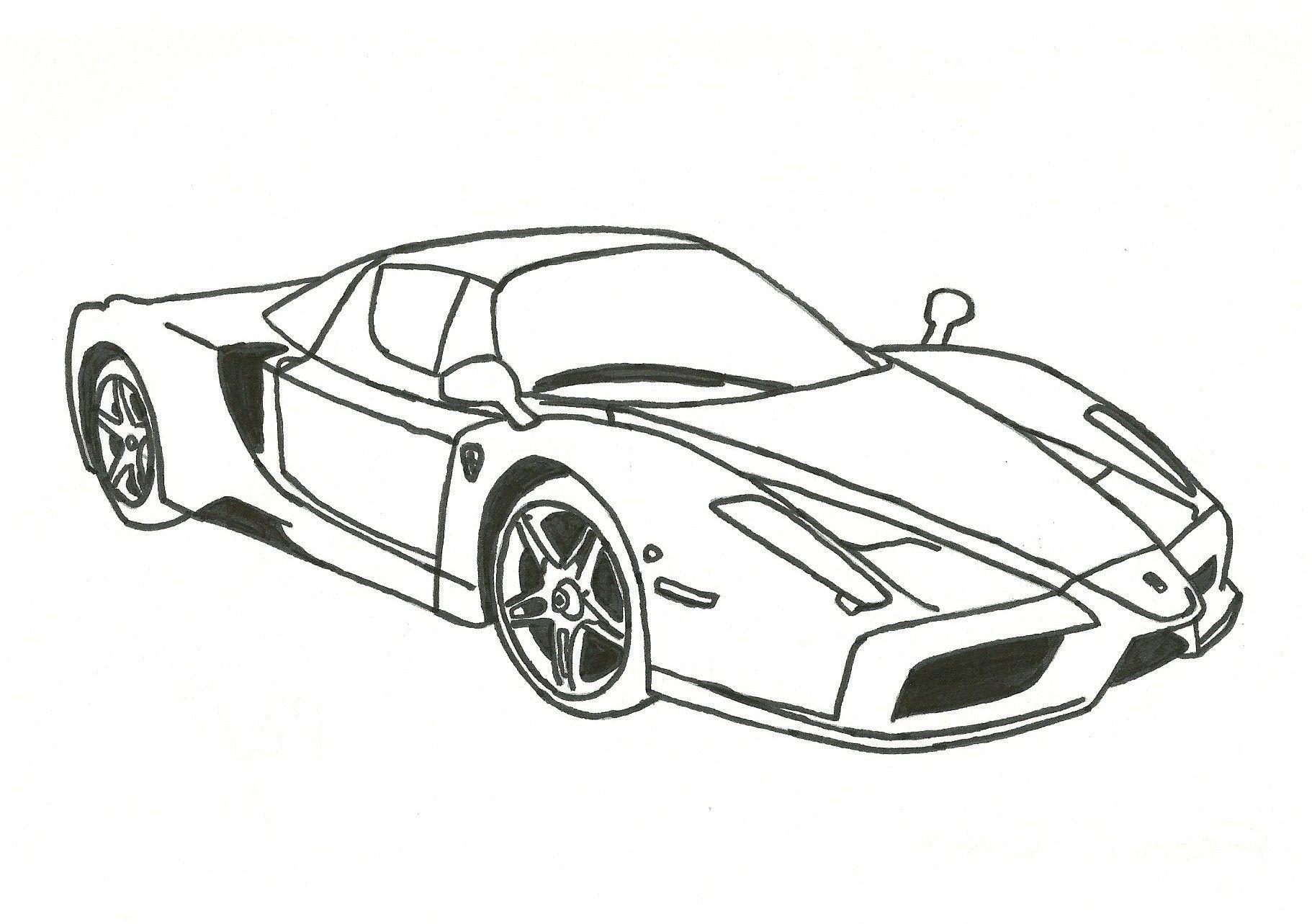 Раскраска для мальчиков машинки гоночные