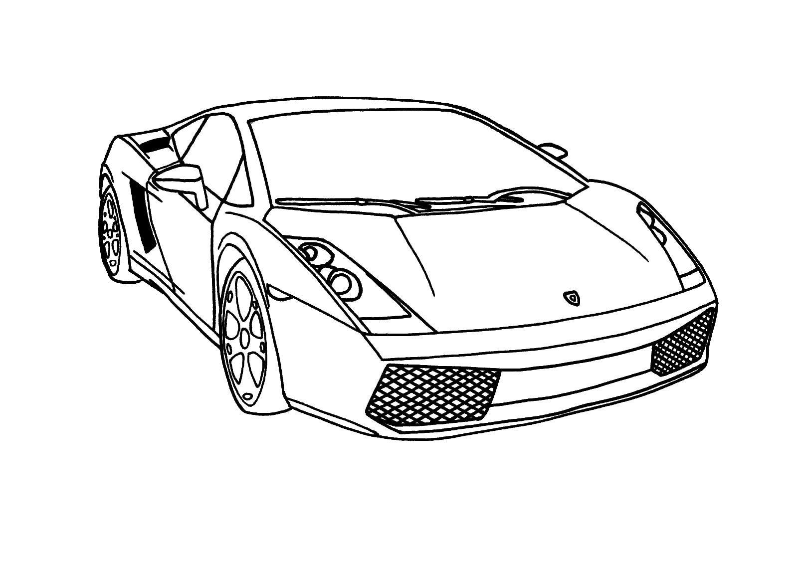 Раскраски для мальчиков машины крутые - 3