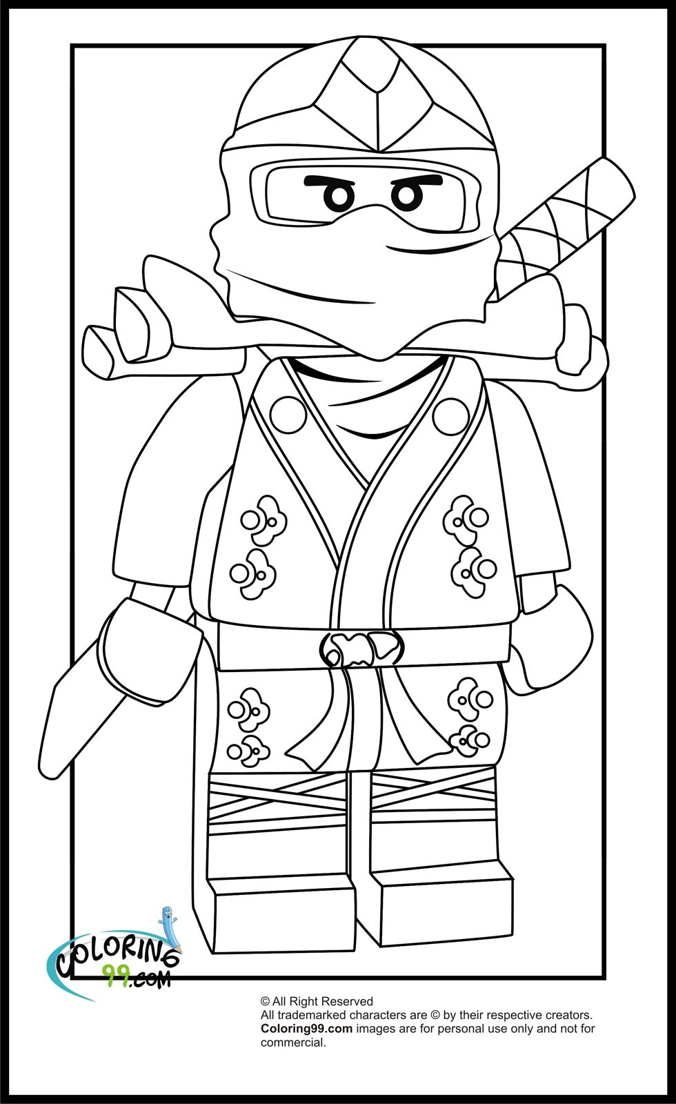 lego sonic coloring pages -