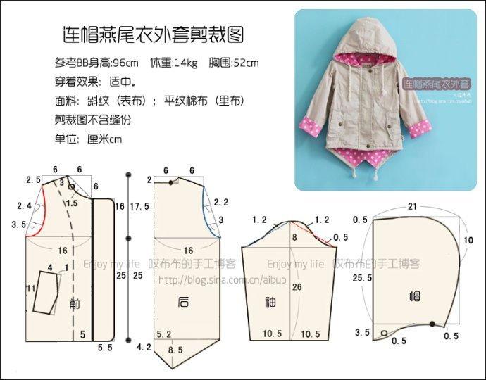 Куртка для кукол своими руками