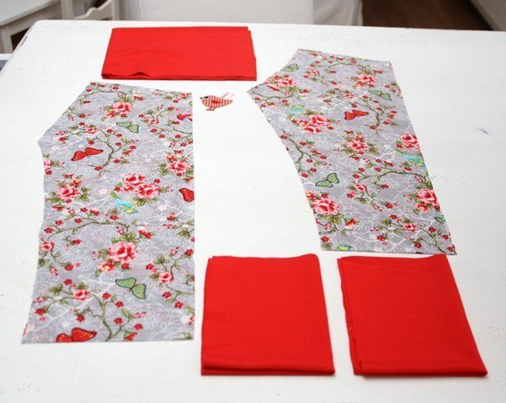 Штаны для новорожденного мастер класс пошагово #8