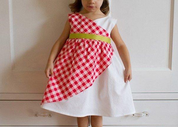 Шьем летнее платье своими руками мастер класс