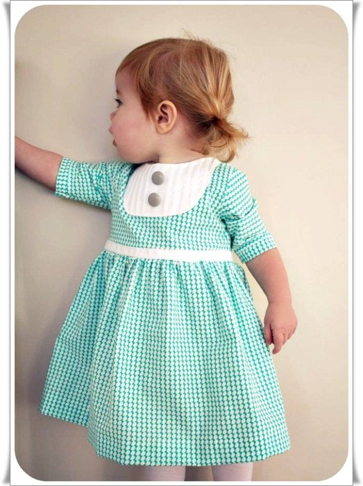 Детское платье шитье выкройки