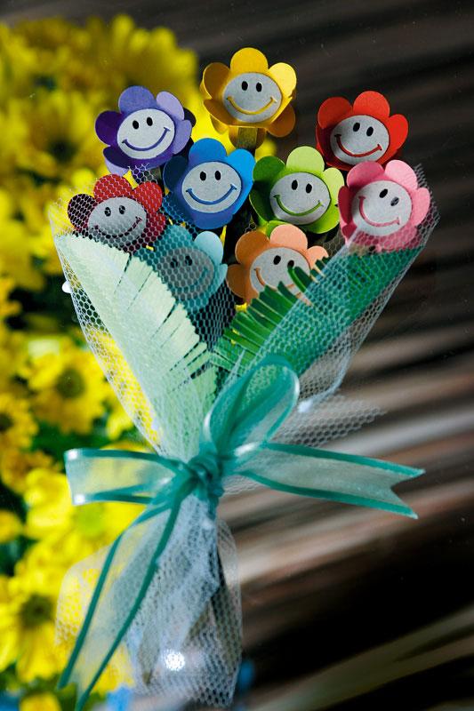 Поделка из цветов своими руками для детей 72