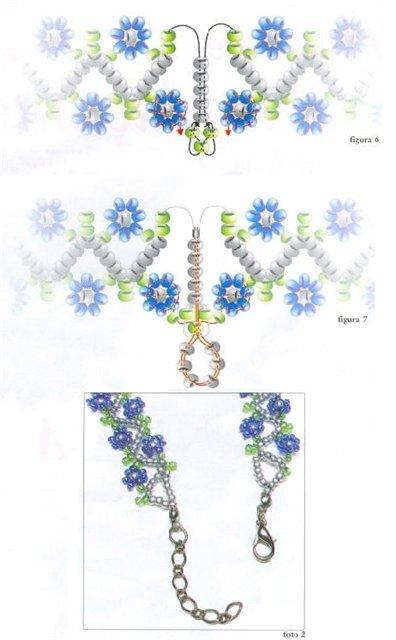Схема объемного цветка крючком фото 46