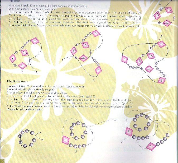 Плетения роз лентами