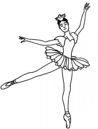 """Раскраски """"барби балерина"""" скачать и распечатать бесплатно"""