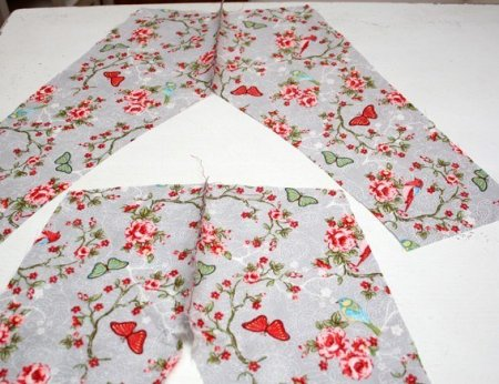 Детские штанишки для дома: мастер класс по шитью штанов для девочки