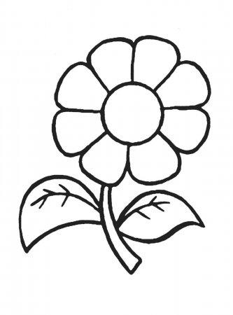 цветик семицветик картинка шаблон