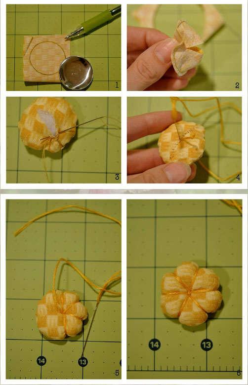 Новые цветы из ткани своими руками 45