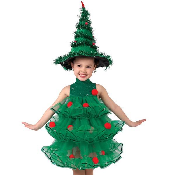 елка костюм фото