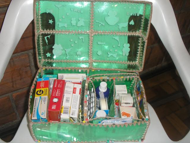 Шкатулки из пластиковых коробок своими руками