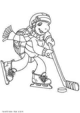 Хоккей вышивка крестом схемы