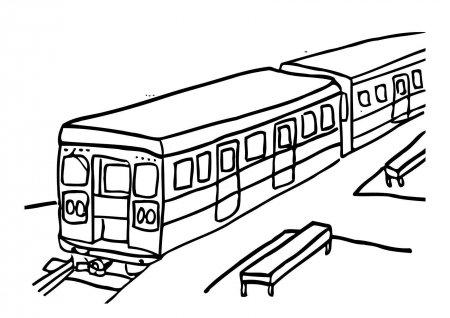 """Раскраски """"трамвай"""" скачать и распечатать бесплатно"""