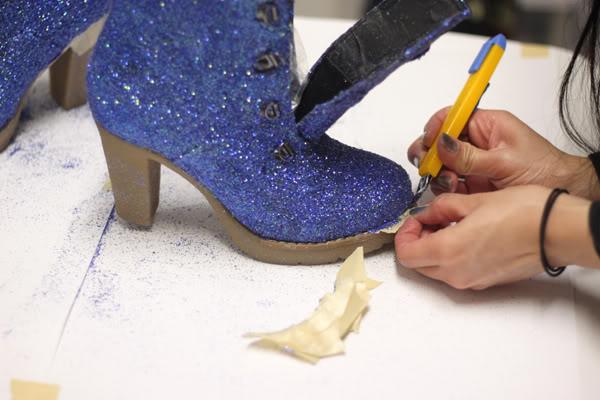 Украсить обувь мастер класс