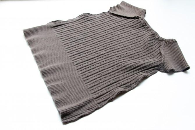Платье детское из старых джинсов 40
