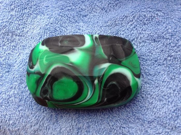 Как сделать зелёный камень 726