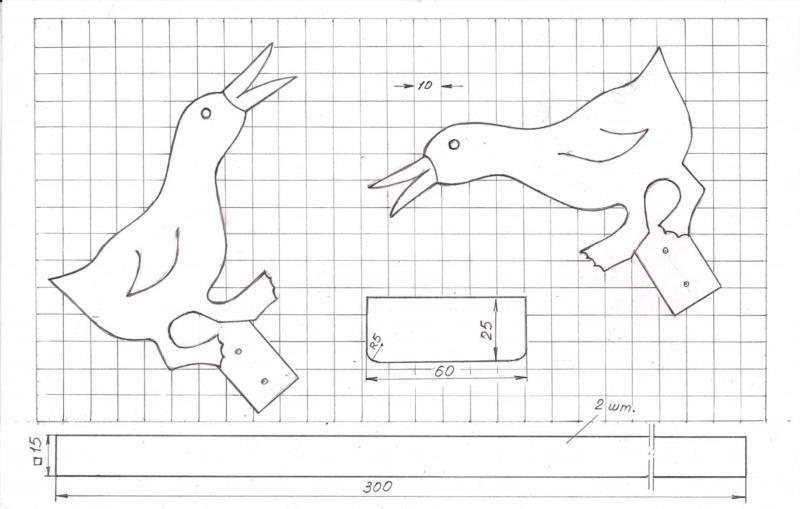 Подвижные деревянные игрушки чертежи