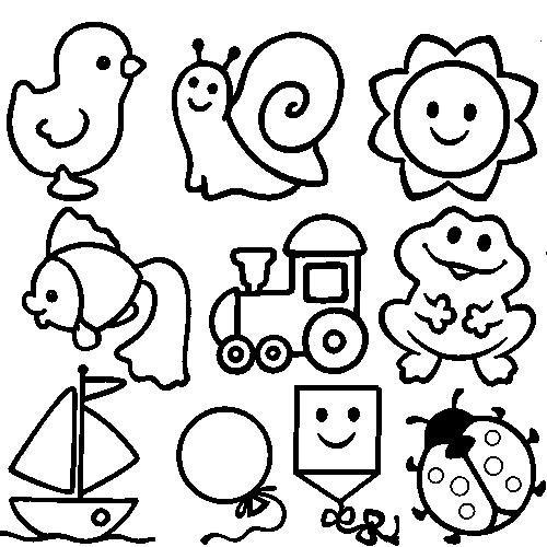 Раскраска для малышей 1 2 года - 8