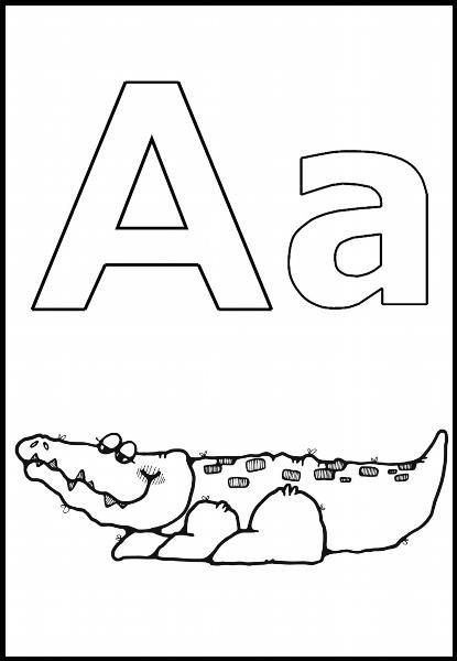 Буква а в картинках для детей как нарисовать 6