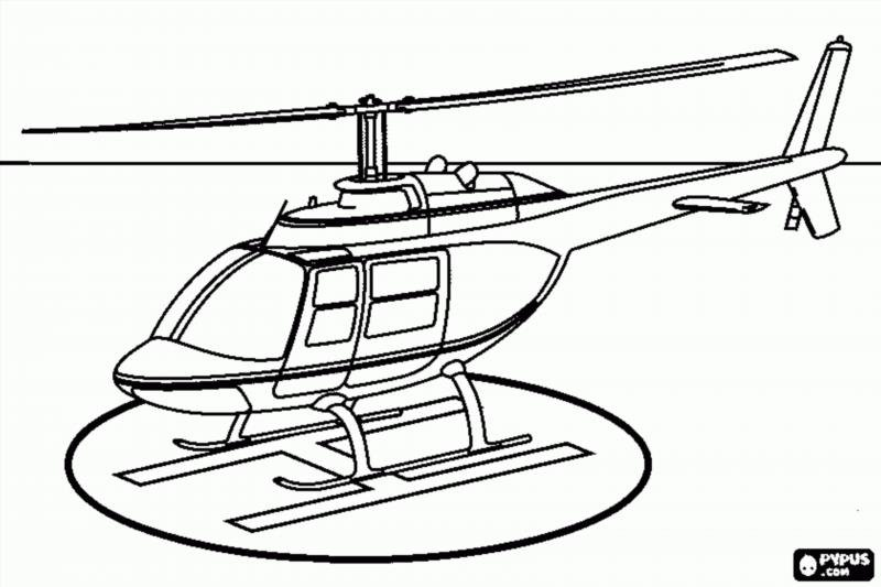 Cobra helicopter drawing