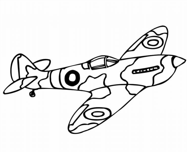 Техника военных лет раскраски