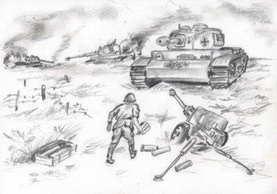 Раскраски о великой отечественной войне