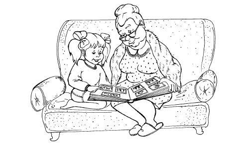 Нарисовать бабушке на новый год