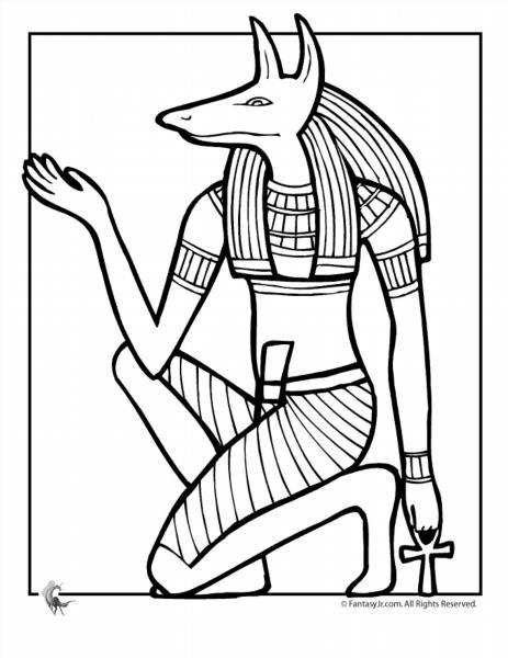 Все раскраски древнего египта