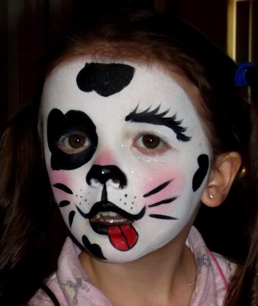 Как можно раскрасить лицо на хэллоуин в домашних условиях фото - VE-graphics.ru