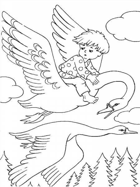 русские народные сказки раскраски для детей 4 лет