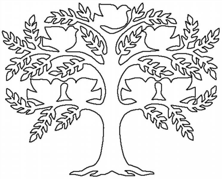 Раскраски дерево жизни