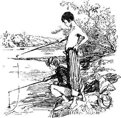 том сойер на рыбалке
