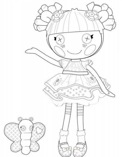 Раскраска для девочек печатать - 9