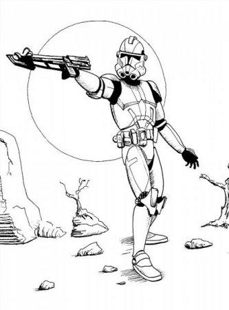 Звёздные войны раскраски асока