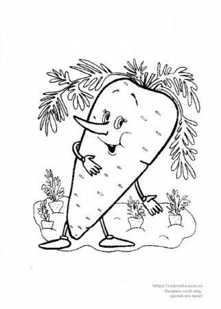 """Раскраски """"овощи и фрукты"""" скачать и распечатать бесплатно"""