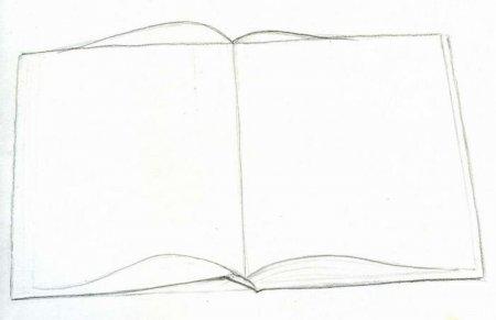 картинка книга раскрытая для детей