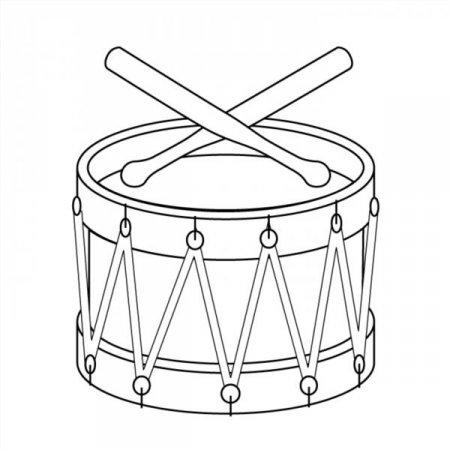 Раскраски музыкальные инструменты для детей распечатать