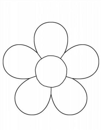 Цветы пяти листьев